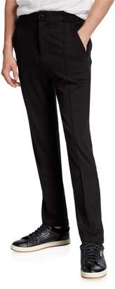 Karl Lagerfeld Paris Men's Front-Seam Pants