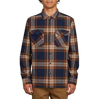 Volcom Men's Randower Long Sleeve Button Up Flannel