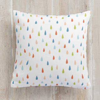 Rain drops Square Pillow