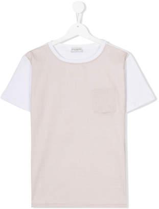 Paolo Pecora Kids TEEN two tone T-shirt