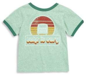 Rowdy Sprout Baby Boy's& Little Boy's Take It Easy Vintage Tee - Green - Size 18-24 Months