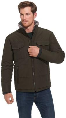 Weatherproof Men's Cotton/Nylon Puffer Coat