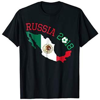 Mexico World Soccer Jersey 2018 Cup Fan Russia T-Shirt