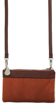 Baggallini Leather Trim Tessa Clutch