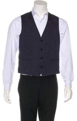 Etro Paisley Wool Vest w/ Tags