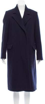 Dries Van Noten Longline Wool Coat