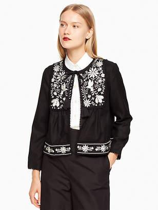 Kate Spade Embroidered jacket