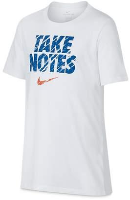 Nike Boys' Dri-FIT Take Notes Tee - Big Kid