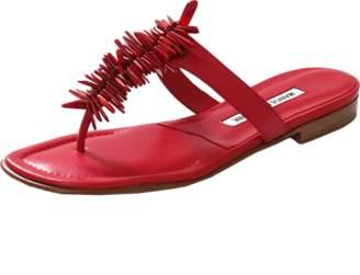 Manolo Blahnik Coralona Thong Sandal
