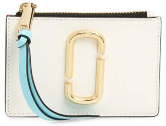 Marc Jacobs Snapshot Leather ID Wallet