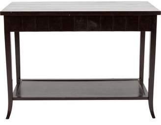 Dark Wood Console Table