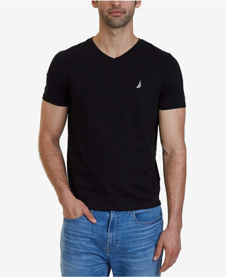 Nautica Men's Slim-Fit Stretch V-Neck T-Shirt