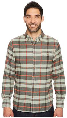 Woolrich Eco Rich Twisted Rich Shirt Men's Long Sleeve Button Up