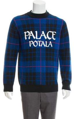 Palace Skateboards Potala Plaid Heavy Knit Sweater