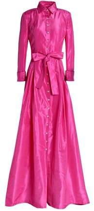 Silk-Faille Gown