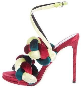b2a7f0c3978b35 Marco De Vincenzo Green Women s Sandals - ShopStyle