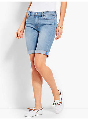 "Talbots 9"" Girlfriend Jean Short-Breeze Wash"