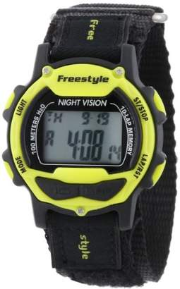 "Freestyle Unisex 102283 ""Predator"" Sport Watch with Black Nylon Band"