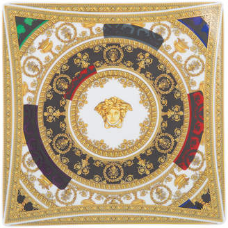 Versace Baroque and Roll Square Dish - 22cm