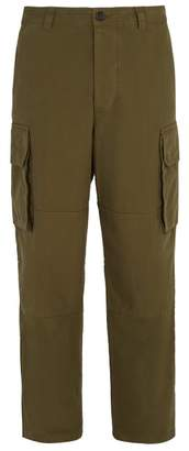 Ami Straight Leg Cargo Trousers - Mens - Green