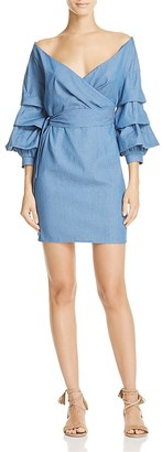 Do and Be Chambray Wrap Shirting Dress - 100% Exclusive $88 thestylecure.com