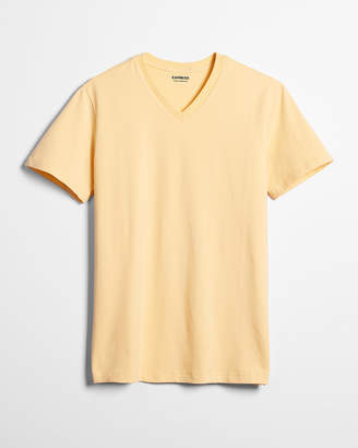 Express Slim Stretch V-Neck Tee