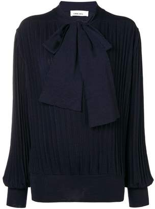 Circus Hotel pleated knit top