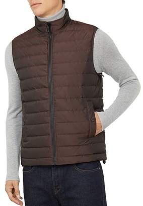Ted Baker Yarg Two-Tone Quilted Gilet