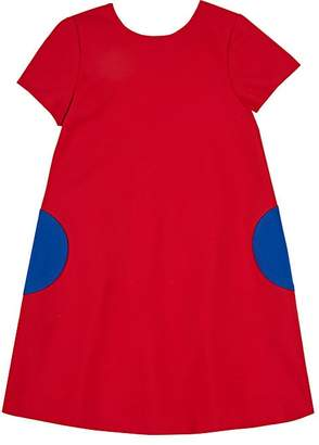 Lisa Perry Kids' Ponte-Knit Shift Dress