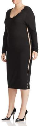Marina Rinaldi Gazzella Crepe Dress