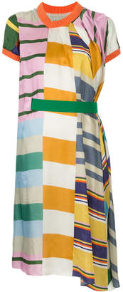 Kolor gathered belt dress