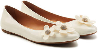 Marc Jacobs Daisy Patent Leather Ballerinas