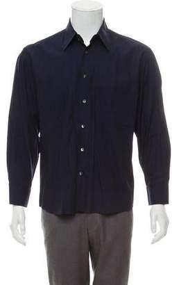 Dolce & Gabbana Herringbone Dress Shirt