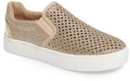 Girl's Stuart Weitzman Double Marcia Glitter Platform Sneaker $64 thestylecure.com