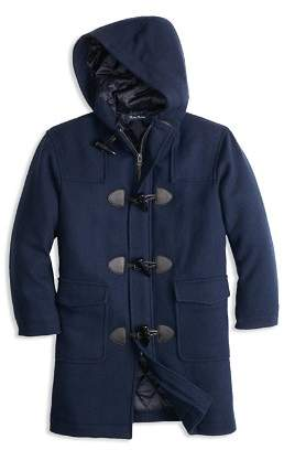 Brooks Brothers Boys' Melton Toggle Coat - Big Kid