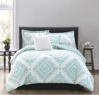 Wayfair Hawkins 5-Piece Reversible Comforter Set