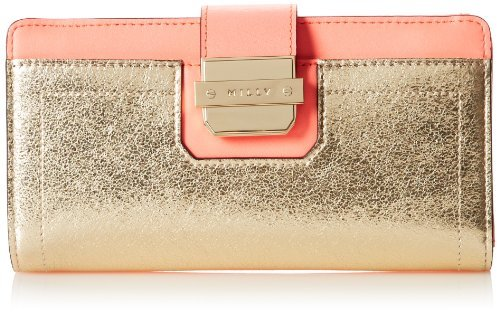 Milly Colby Metallic Continental Wallet