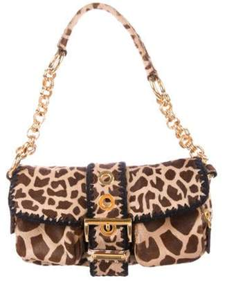 Prada Cavallino Shoulder Bag Brown Cavallino Shoulder Bag