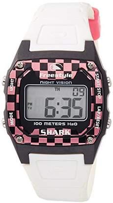 Freestyle (フリースタイル) - [フリースタイル]Freeestyle 腕時計 SHARK CLASSIC デジタル 100m防水 ウレタンベルト ブラック ホワイト 81268 【正規輸入品】