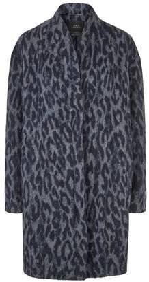 SET Leopard Print Coat