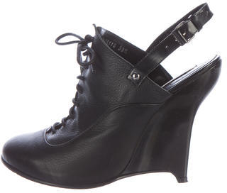 Opening CeremonyOpening Ceremony Leather Lace-Up Booties