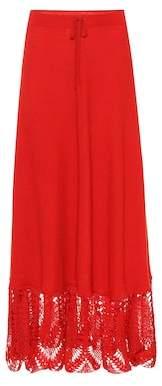 Roche Ryan Cashmere maxi skirt