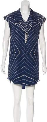 Shipley & Halmos Printed Shift Dress