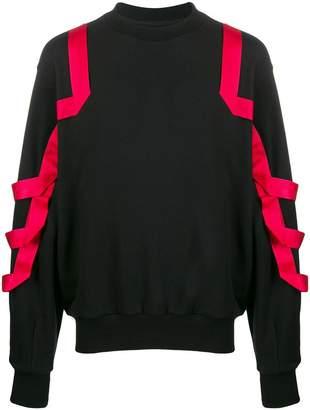 web detail sweater