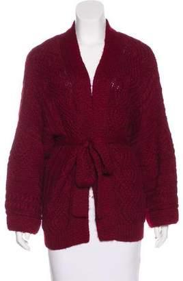 Etoile Isabel Marant Open-Front Knit Cardigan