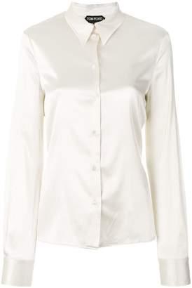 Tom Ford stretch silk shirt