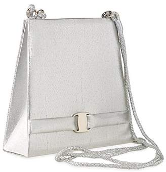 Farfalla Womens 80870 Shoulder Bag Silver