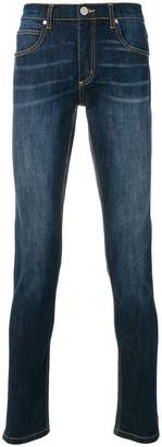 Versace regular fitted jeans