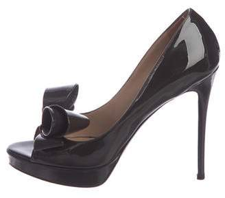 104423b4be2 Valentino Bow Heels - ShopStyle