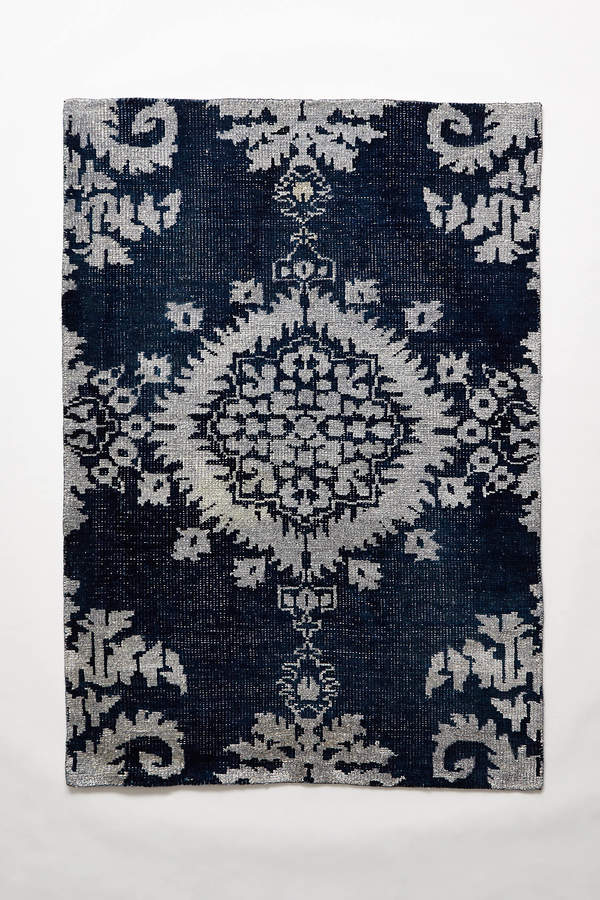 Anthropologie Anthropologie Stonewashed Medallion Rug